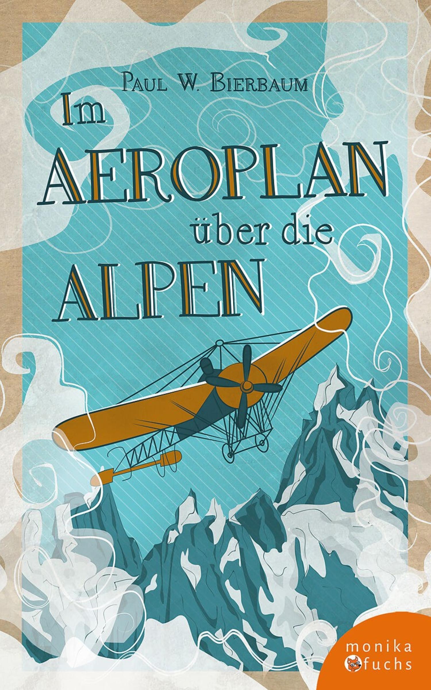 Buch Im Aeroplan über die Alpen
