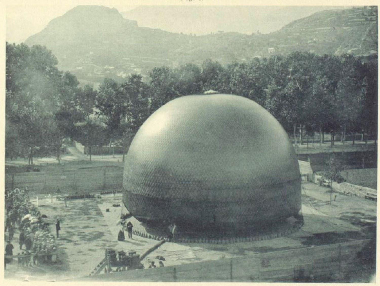 Die «Wega» während der Füllung am 29. September 1898